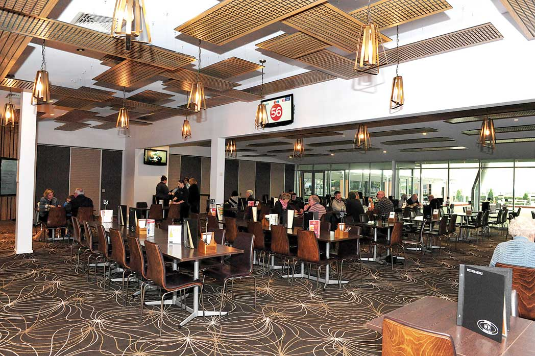 Morwell Bowling Club dining area Bistro