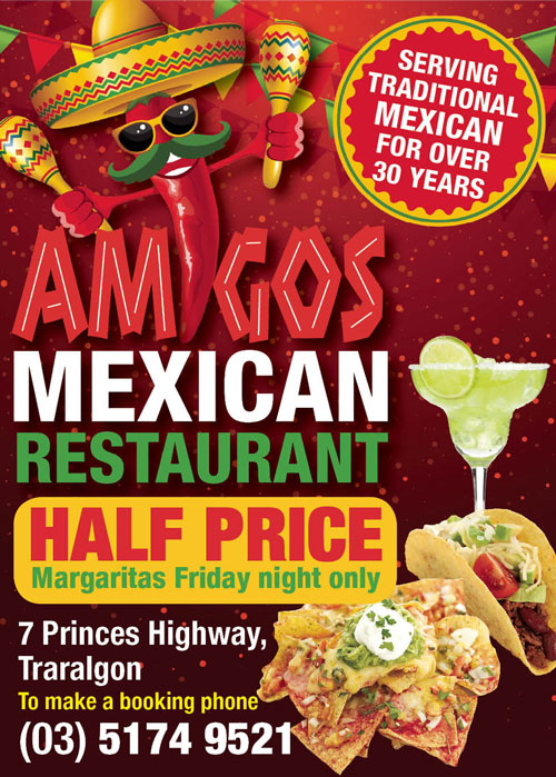 Amigo Advert