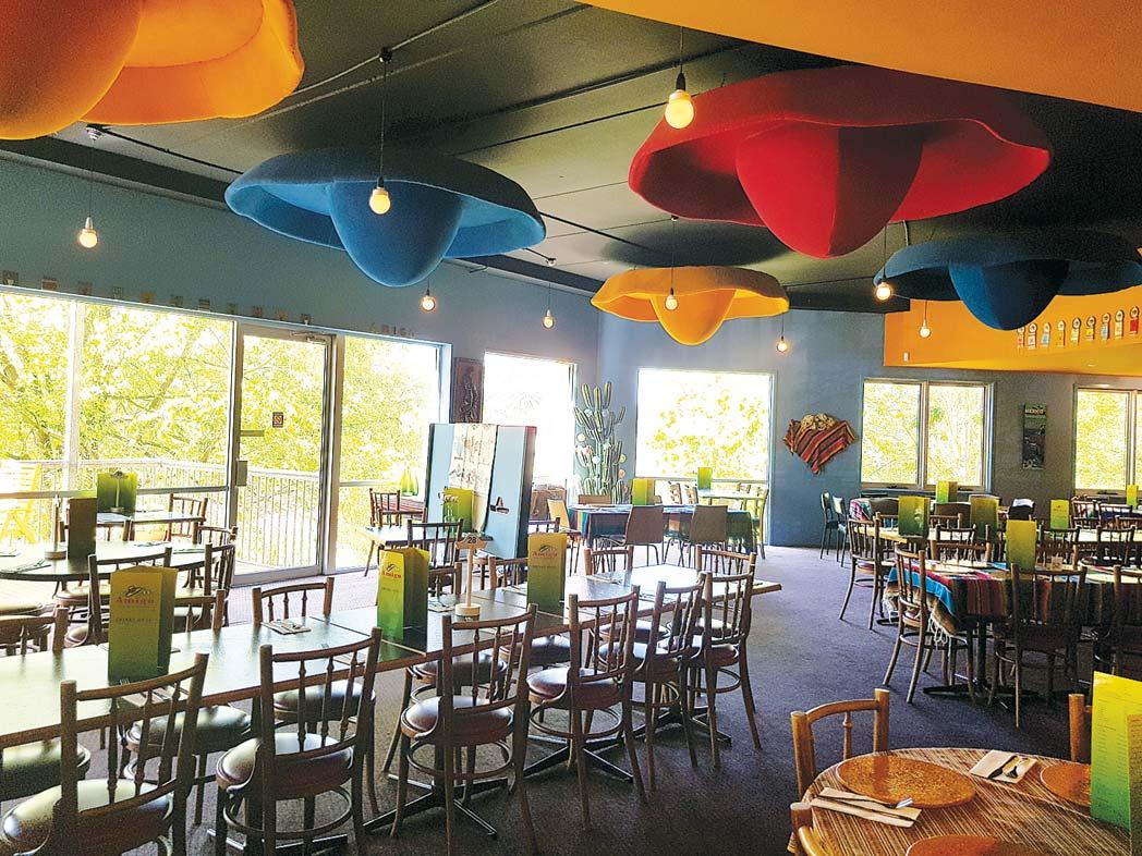 Amigo Inside Restaurant