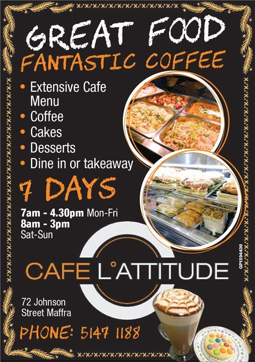 Cafe L'attitude