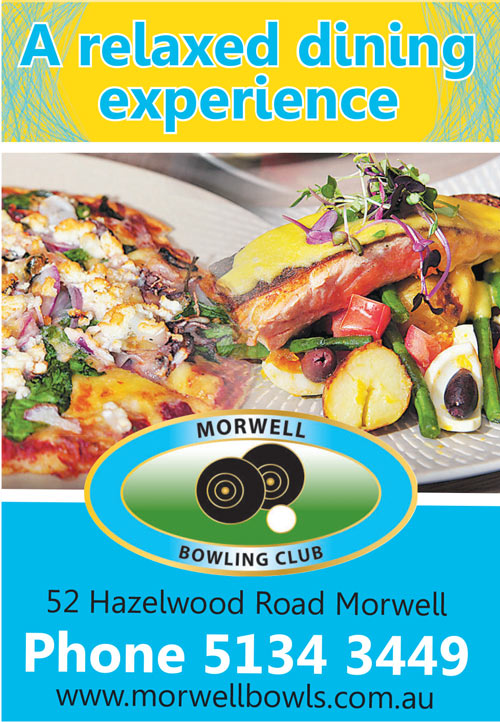 Morwell Bowling Club Advert