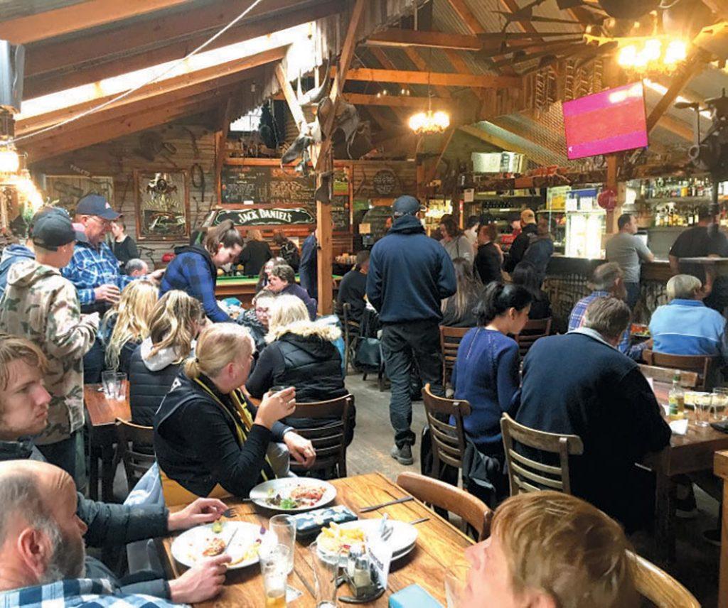StockYard Dining Area
