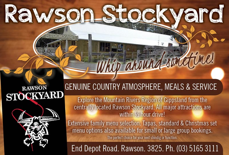 Rawson Stockyards Advert
