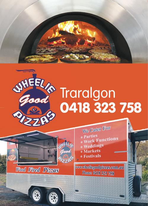 Wheelie Pizzas Advert