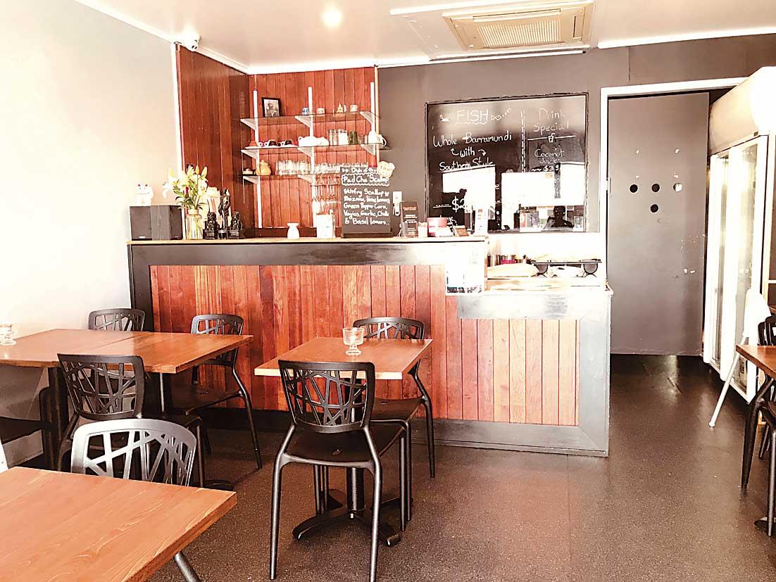 Zaab Zaab Dining Area
