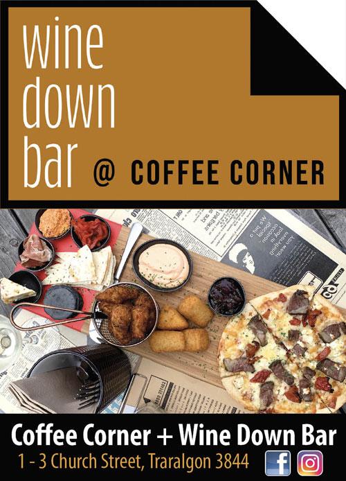 Coffee Corner Advert