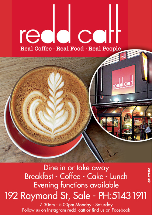 Redd Catt Advert