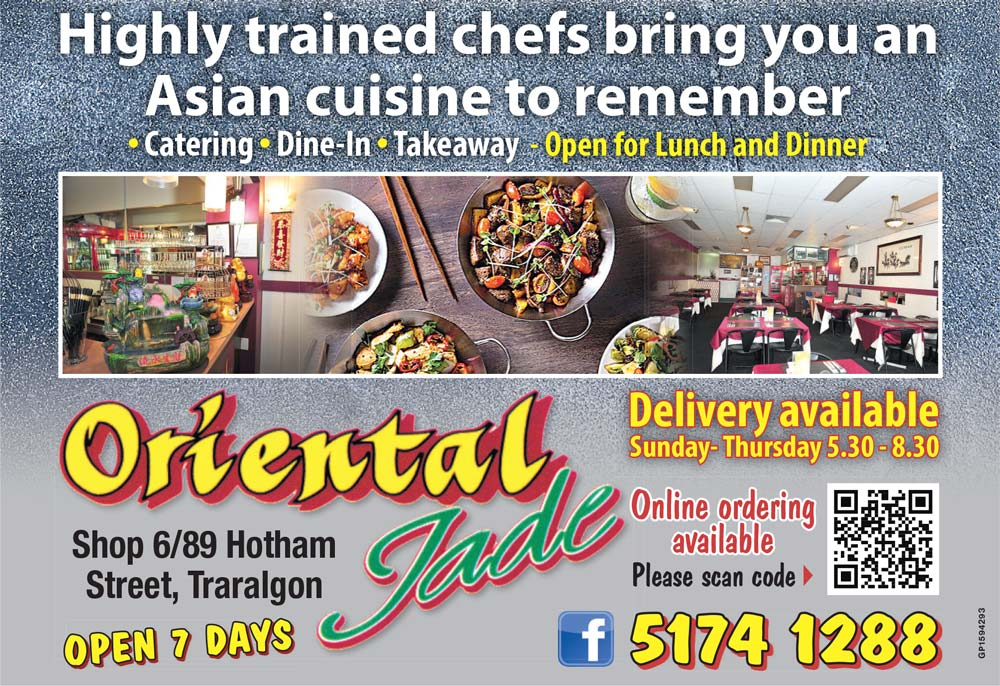 Oriental Jade Advert